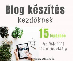 blog készítés lépései