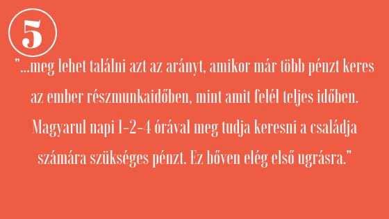 passzív többletjövedelem)