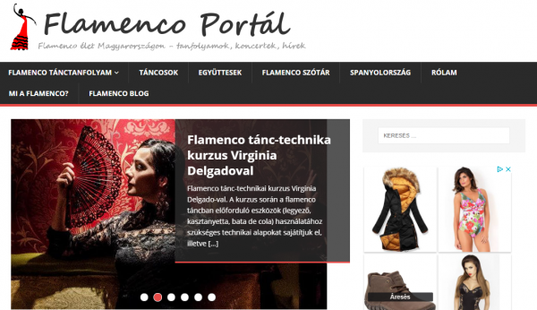 Flamenco portal