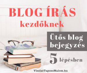 blog jírása 5 lépésben