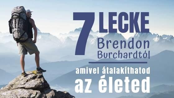 Brendon Burchard könyv