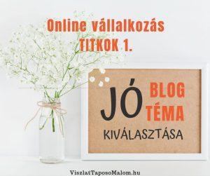 blog téma kiválasztása