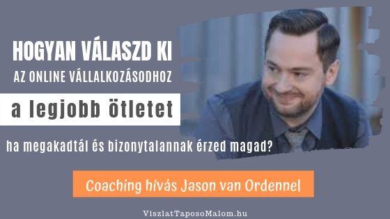 vállalkozási ötlet coaching