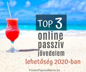 online passzív jövedelemforrások 2020