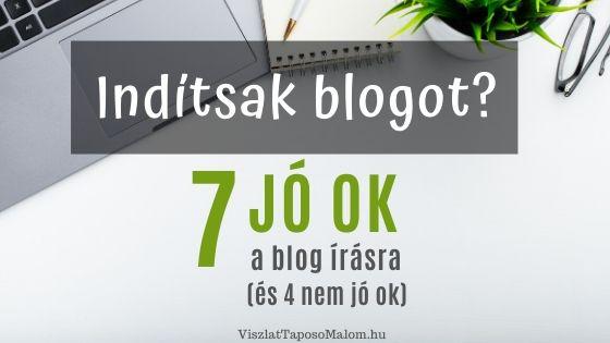 blog indítás célok