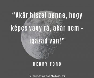 Motiváló idézet Henry Ford