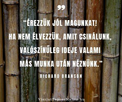 Motiváló idézet Richard Branson