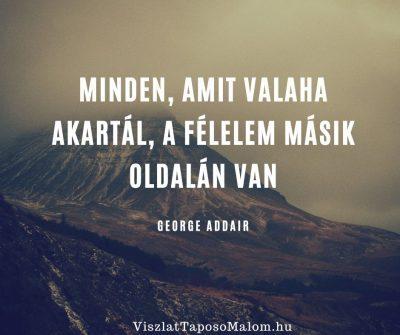 Motiváló idézet G. Addair