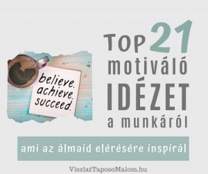 motiváló idézetek munka