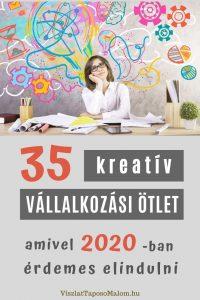 kreatív vállalkozás