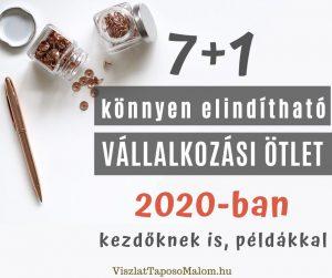 üzleti ötlet 2020