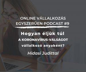 Interjú Hidasi Judittal